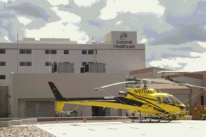 Summit Healthcare Helicopter