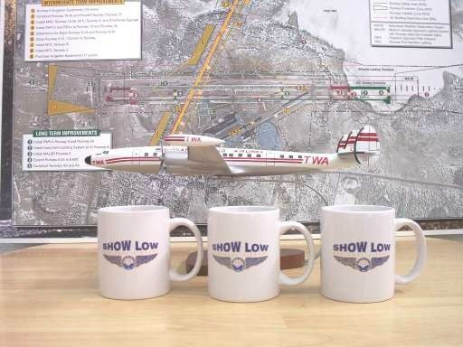 Show Low Regional Airport Coffee Mugs